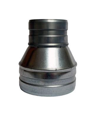 Zníženie 180/160 kapota, hadica spiro ventilátor