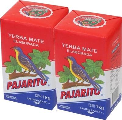 комплект Yerba Mate Pajarito 2кг (1 +1 ) оригинальная