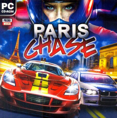 Paris Chase. Nowy PC CD-ROM.