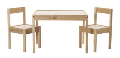 Икеа комплект ?????????? столик +2 кресла LATT детей
