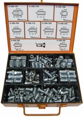 Набор наконечников, клемм для проводов торм. 165 шт