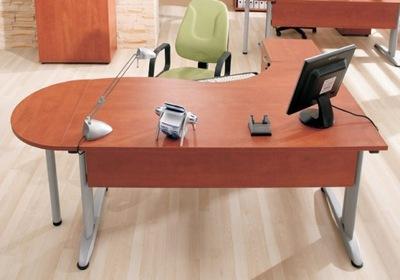 kancelársky Nábytok Set Biele Ostatné Farby Stôl