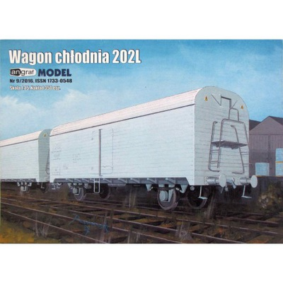 Angraf 9 /16 - Вагон рефрижератор 202L 1 :25
