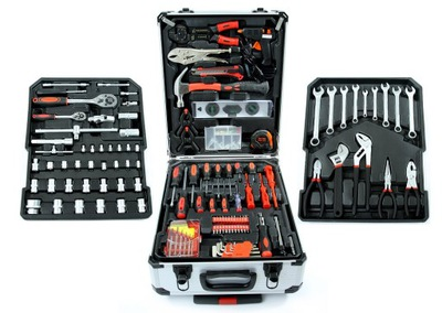 Sada nástrojov - KIT KEY TOOL SET 187 EL FULL OPTION