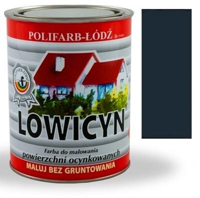 Lowicyn farba ANTRACIT pozinkované SIVÁ RAL7016 MATNÝ 0,8