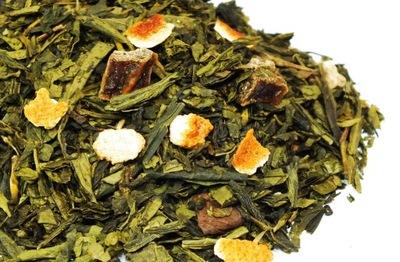 Айва и Имбирь 50г чай зеленый от