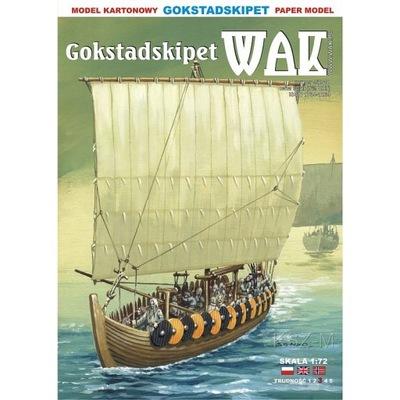 ОАК 9 /18 -  викингов из Gokstad с ок 850r 1 :72
