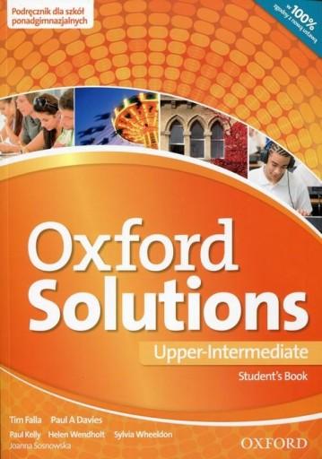 Oxford Solutions Upper Intermediate Student's Book
