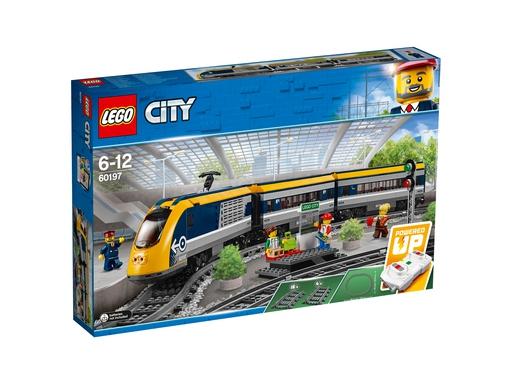 Lego City klocki Pociąg Pasażerski 60197