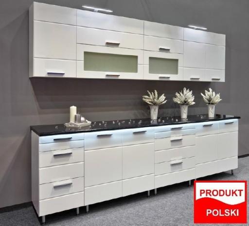 Meble Szafki Kuchenne Kuchnia Fresh Bialy Polysk 6833408796 Allegro Pl