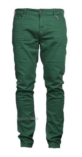 BERSHKA męskie jeansy skinny fit 36 / pas 72 cm