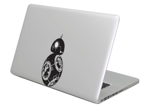 Naklejka na MacBooka Apple Star Wars BB8