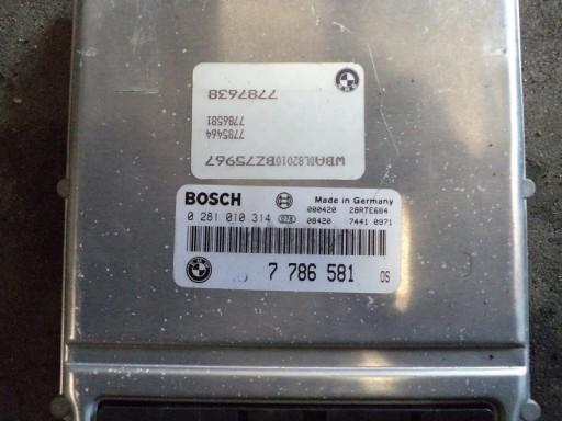 BMW E39 3.0D KOMPIUTERIS UZDEGIMO UZVEDIMO SPYNELE IMMOBILISER