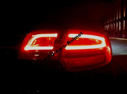 Montaż Kodowanie Lampy Tył Neon Audi A3 8p Led 5770242780 Allegropl