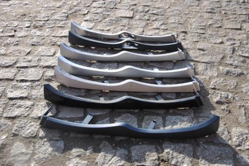 MOLDINGAI PO ZIBINTU DO BMW 3 E46 FACELIFT