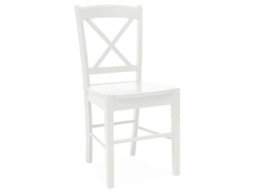 Tanie Krzesło Drewniane Cd 56 Białe Do Kuchni
