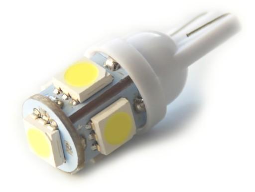 24V W5W T10 5 led x 5050 dioda SMD 5127050074