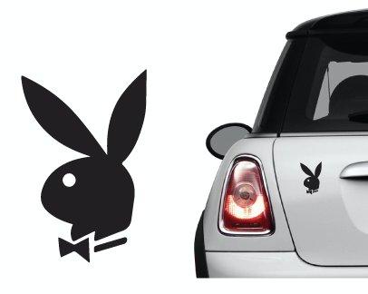 Naklejka winyl. na samochód/samochodowa - Playboy