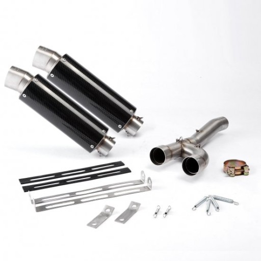 CARBON GP muffler exhaust gas TRIUMPH DAYTONA 675 06-12
