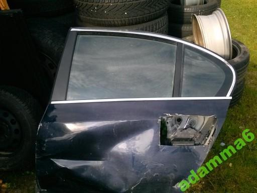 DURU LANGAS / STIKLAS BMW 5 E60 DURU KAIRE.P.(KAIRES PUSES) MOLDINGAS CHROMAS