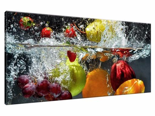 Owoce Obraz Drukowany 115x55 Obrazy Do Kuchni