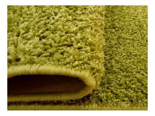Dywan Shaggy Miękki 200x250 2x25 Obszyty Zielony