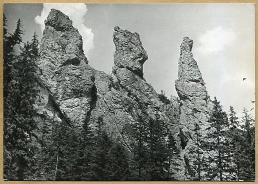 TATRY  --  Trzy Kominy w Dolinie Strążyskiej