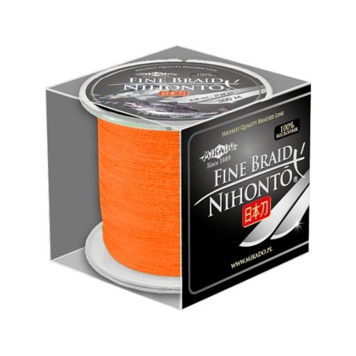Mikado Nihonto Fine Braid 0,10mm 300m orange