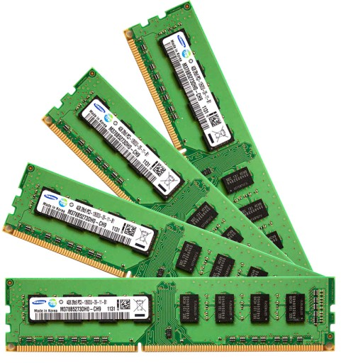 Pamieci Ram Ddr3 16gb 4x 4gb Kit Dual Channel Dimm Czesci Komputerowe Pamiec Ram Allegro Pl
