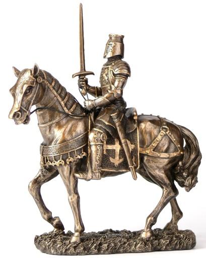 Znalezione obrazy dla zapytania: rycerz na koniu