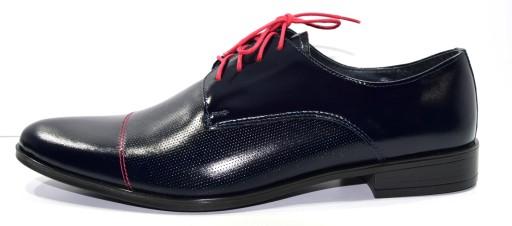 Obuwie męskie pantofle półbuty gr modne 557 R.39 8319089614