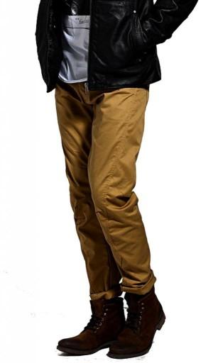 JACK&JONES spodnie dla faceta DULL GOLD 29/32