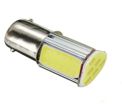 Żarówka LED P21W Ba15s 4x COB -dzienne, cofania, .