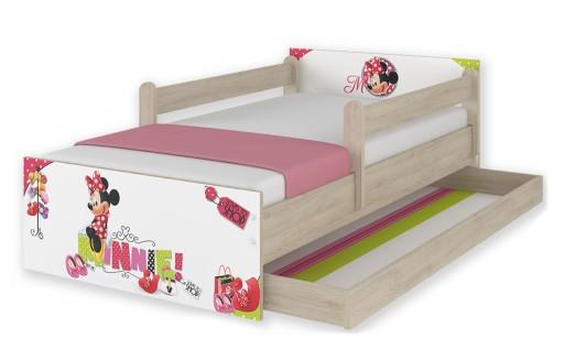 łóżko Dziecięce Max 160x80 Szuflada Disney Minnie 5948424482