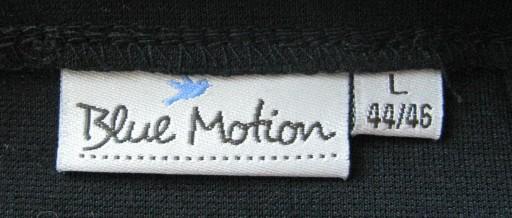 Czarna mini spódniczka Blue Motion rozm 42