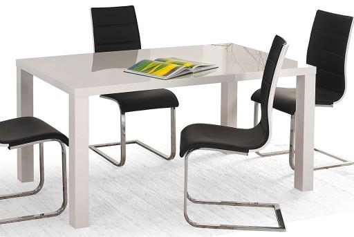 Duży Stół Rozkładany Biały Połysk Długi Na 12 Osób 5865262245