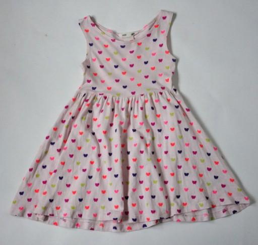 c2aa954c21 H M Sukienka 92cm 18-24mc Motyle CUDOWNA (7360360890) - Allegro.pl ...
