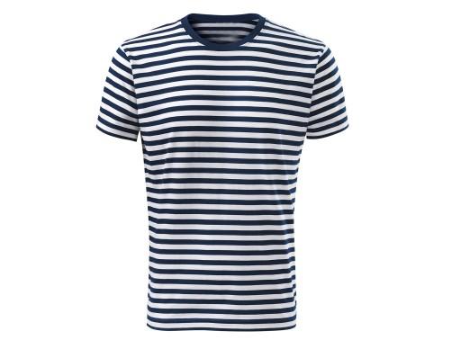 95998a3ab6 MARYNARSKA koszulka męska wysoka jakość XXL 6760666511 - Allegro.pl