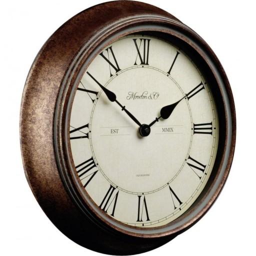 Duży Zegar ścienny Retro Rzymskie Cyfry śr 35cm 6072768448