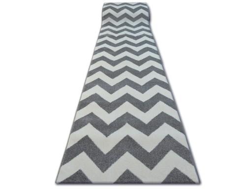 Dywany łuszczów Chodnik Sketch 80 Zygzak Q1962