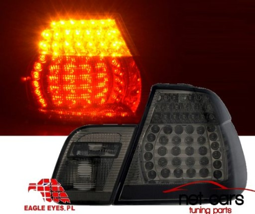 lampy led dymione bmw e46