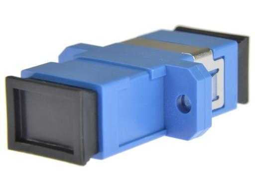 NEKU Adapter jednomodowy FO SM PC simplex SC-SC