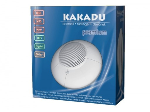 Dzwonek Kakadu Premium Mp3 Własne Dźwięki Usb