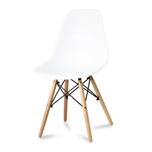 białe krzesła dsw