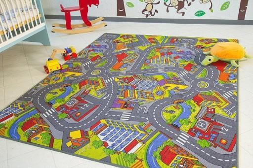 Wykładzina Dywanowa dla dzieci NA WYMIAR Do WYBORU