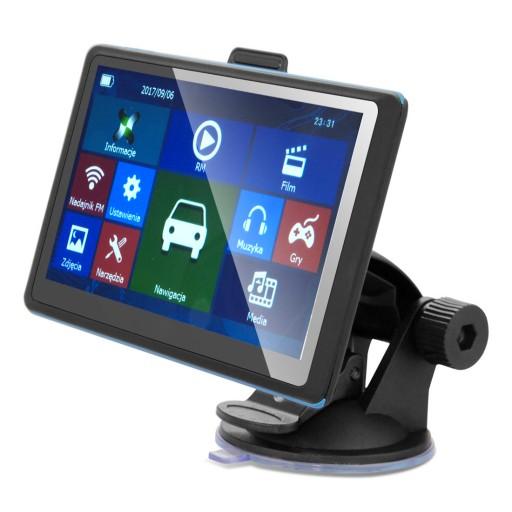 GPS 8GB NAWIGACJA SAMOCHODOWA TIR iGO PRIMO MAPY