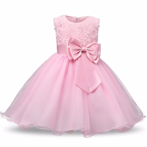 8144a55da9 Sukienka Wesele Wizytowa Kolory 134 140 Hit 2018 7218811891 Allegropl