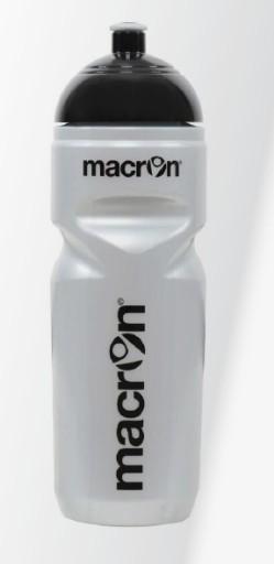 Bidon 800ml Macron Srebrny Made in Italy Jakość