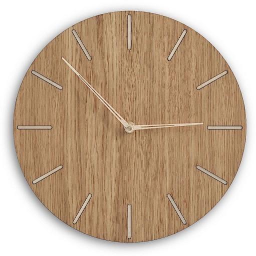Modne ubrania Nowoczesny zegar drewniany w stylu skandynawskim 7552603240 RR63