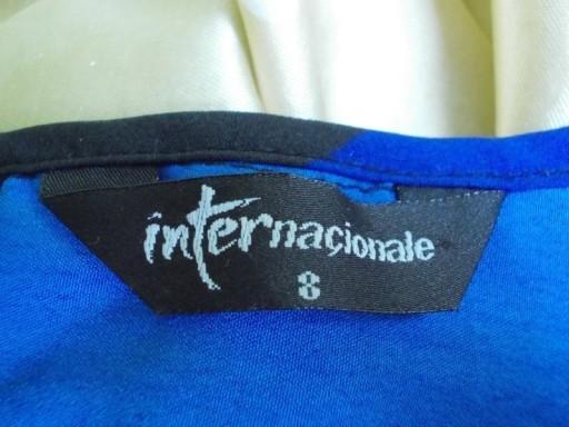 Bluzka crop top w paski Internationale ( 36 / 38 )
